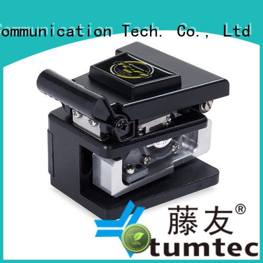 Tumtec precision fiber cleaver customized for fiber optic solution