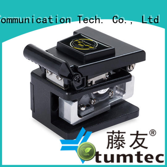 Tumtec durable optical fiber cleaver with good price for fiber optic solution