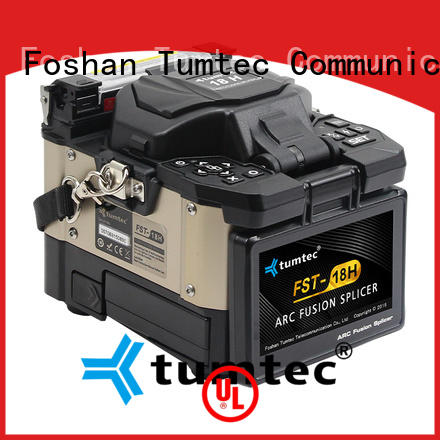 Tumtec effective fiber optic splicing equipment from China for outdoor environment