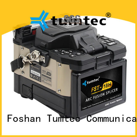 effective fiber optic splicing work fst18s series for outdoor environment