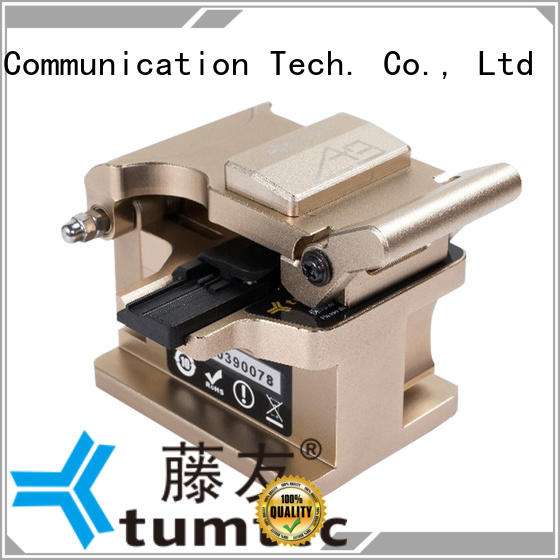 Tumtec high efficiency fiber optic cleaver with good price for telecommunications