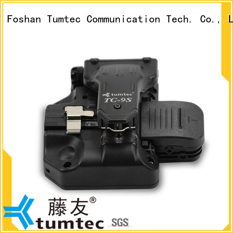 Tumtec tc7s fiber cleaver inquire now for fiber optic field