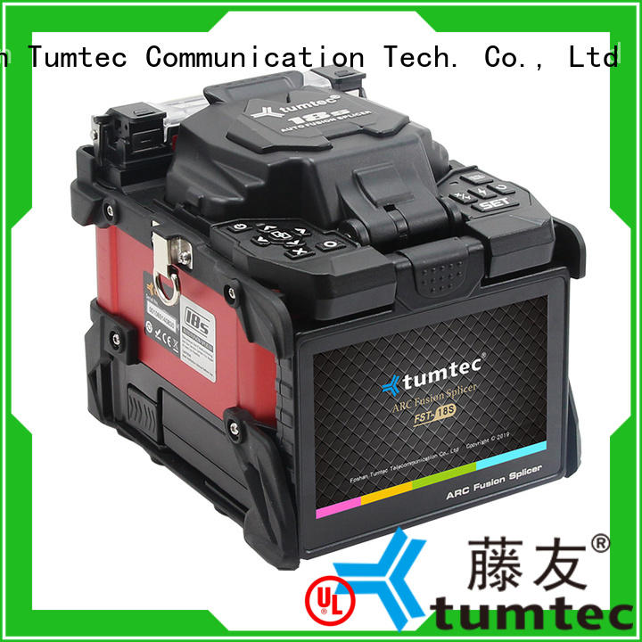 Tumtec optical fiber optical fiber splicing machine factory directly sale for fiber optic solution