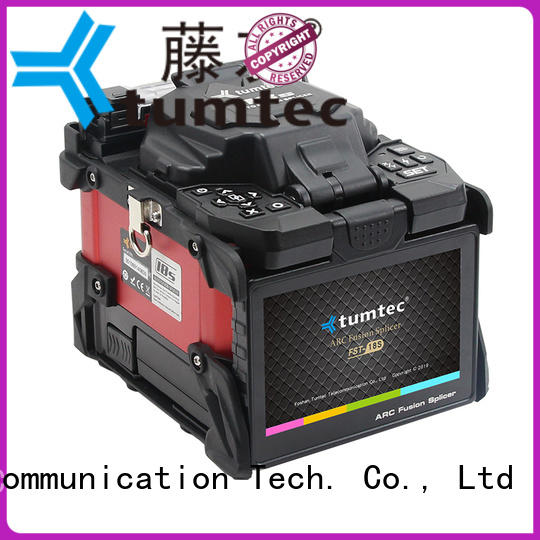 stable Optical Fiber Splicing Machine six motor factory directly sale for telecommunications