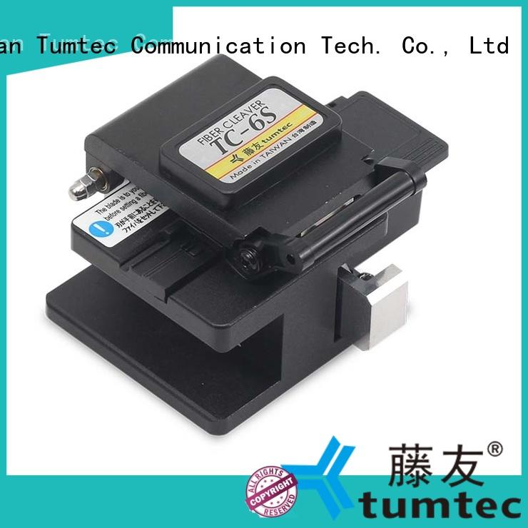 Tumtec professional fiber optic cleaver with good price for fiber optic field