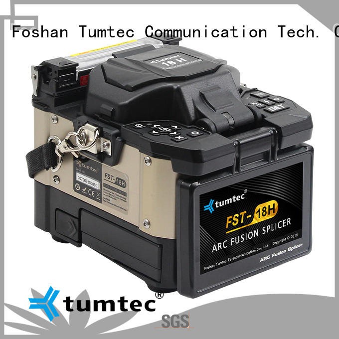 Tumtec v9 fiber optic cable splicing machine price from China bulk buy