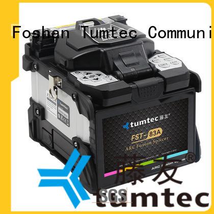 Tumtec equipment optical fiber splicing machine from China for fiber optic solution