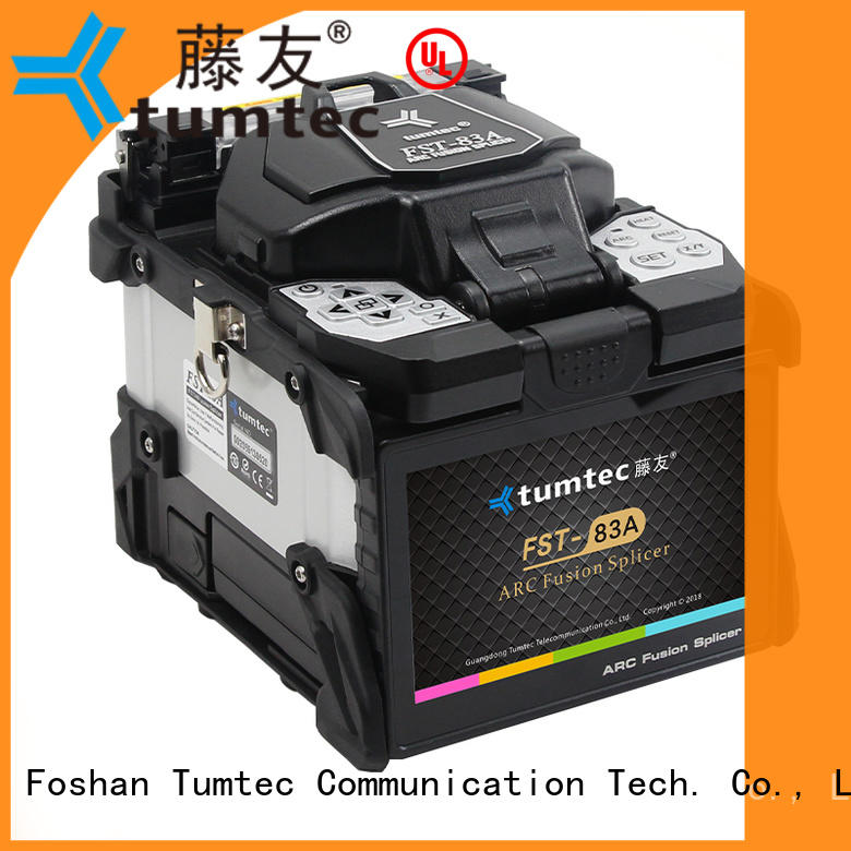 four motors FTTH splicing machine from China for outdoor environment Tumtec