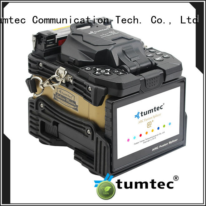 Tumtec v9 Fiber Splicing Machine factory directly sale for telecommunications