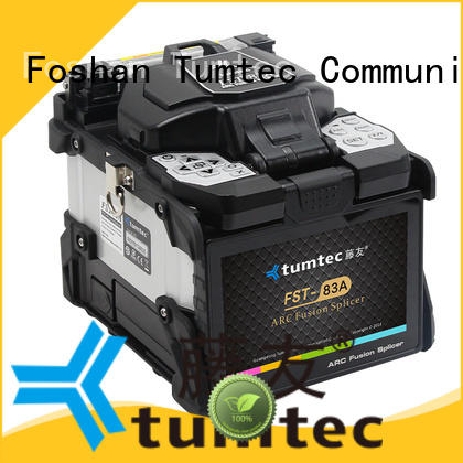 Tumtec oem odm optical fiber splicing machine v9 for outdoor environment