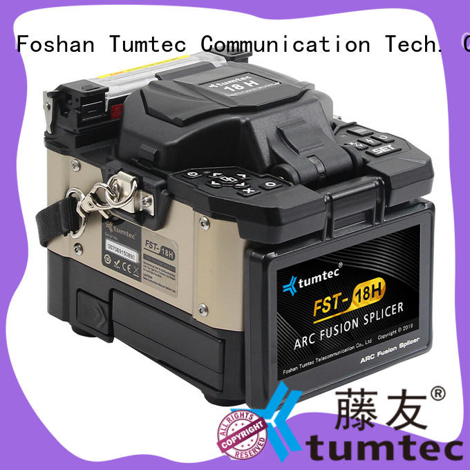 Tumtec stable best fiber splicing machine fst18s for outdoor environment