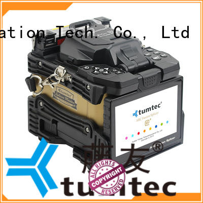Tumtec optical fiber fibre optic splicing equipment south africa factory directly sale for fiber optic solution
