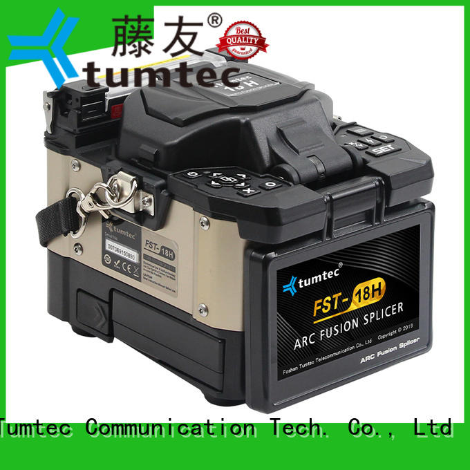 Tumtec fst18s fiber optic fusion from China for outdoor environment
