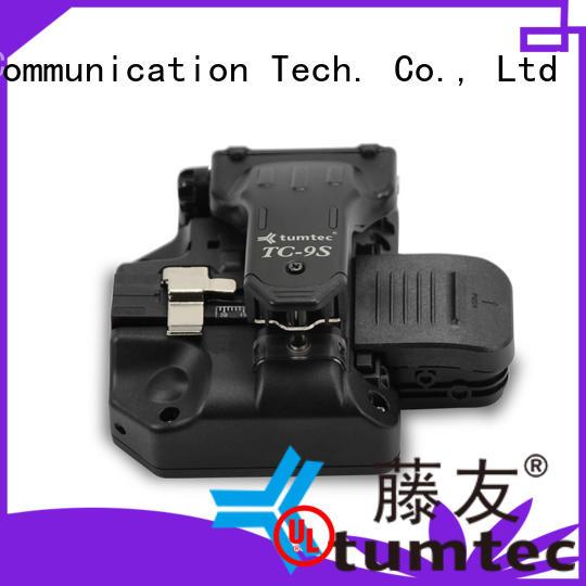 Tumtec high efficiency fiber cleaver customized for fiber optic solution