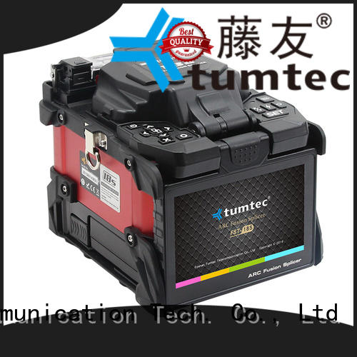 Tumtec fst18s FTTH splicing machine from China for outdoor environment
