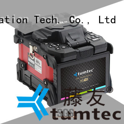 stable splicing equipment factory directly sale for fiber optic solution