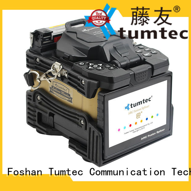 Tumtec equipment optical fiber splicing machine reputable manufacturer for telecommunications