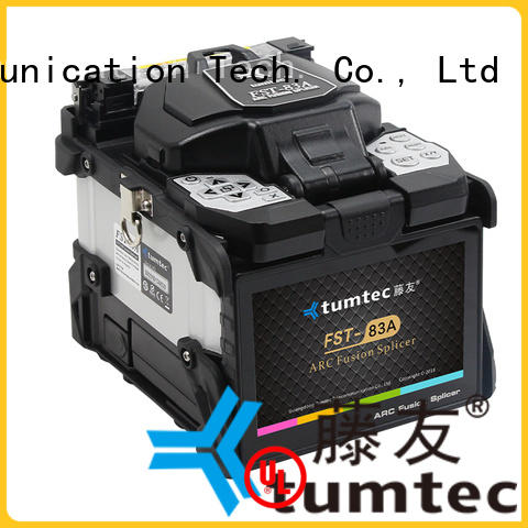Tumtec fst18s fiber splicing machine from China for fiber optic solution