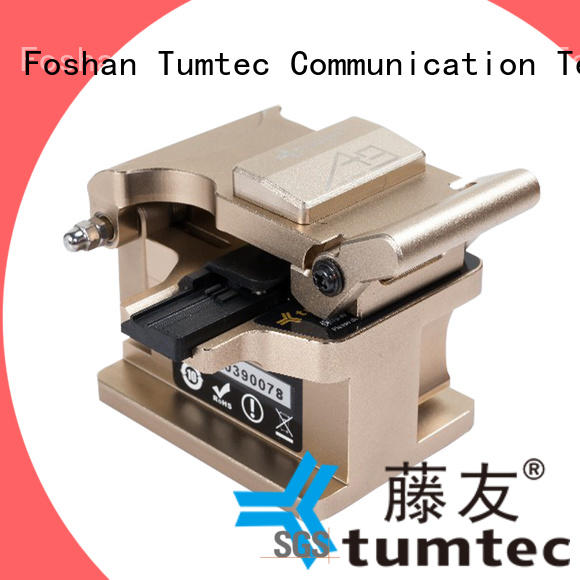 Tumtec optical high precision cleaver with good price for fiber optic solution