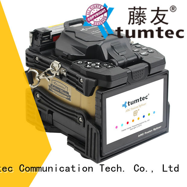 optical fiber splicing machine optical fiber for fiber optic solution Tumtec
