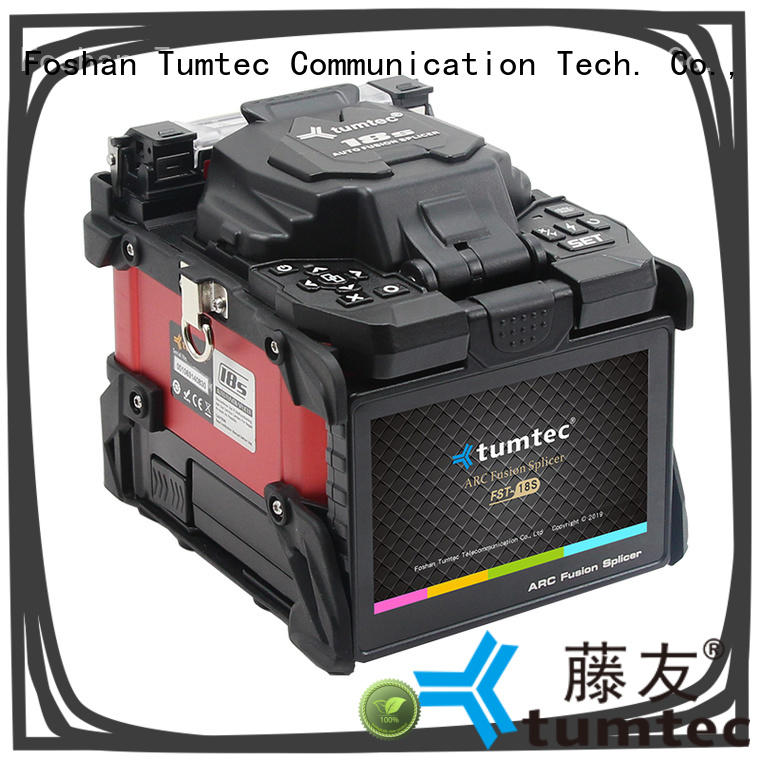 Tumtec stable optical fiber splicing machine factory directly sale for fiber optic solution
